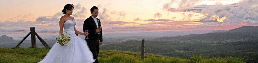 Australia Maleny Sunshine Coast Hinterland Wedding