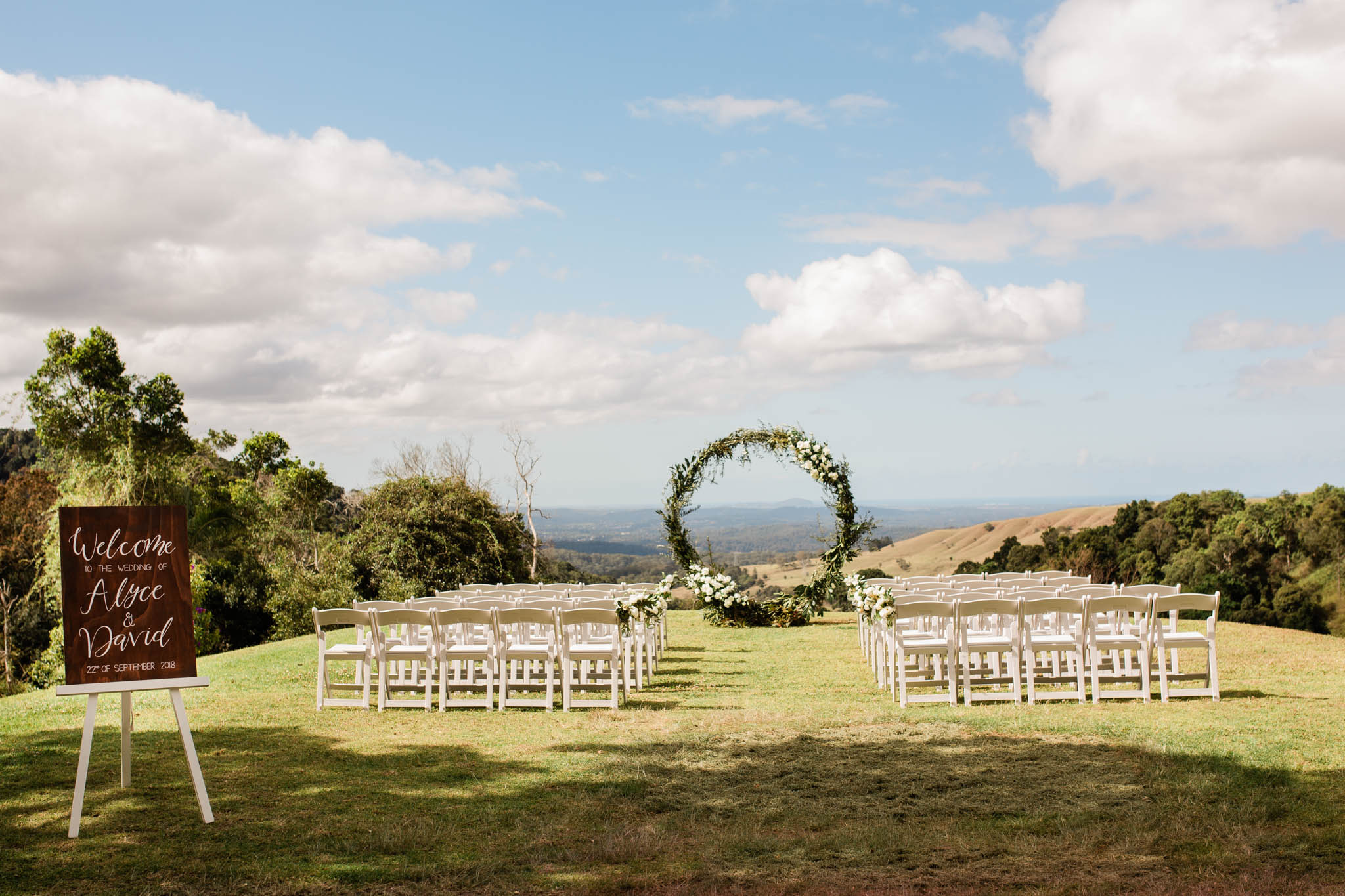 Springtime Wedding In Queensland, Maleny Manor