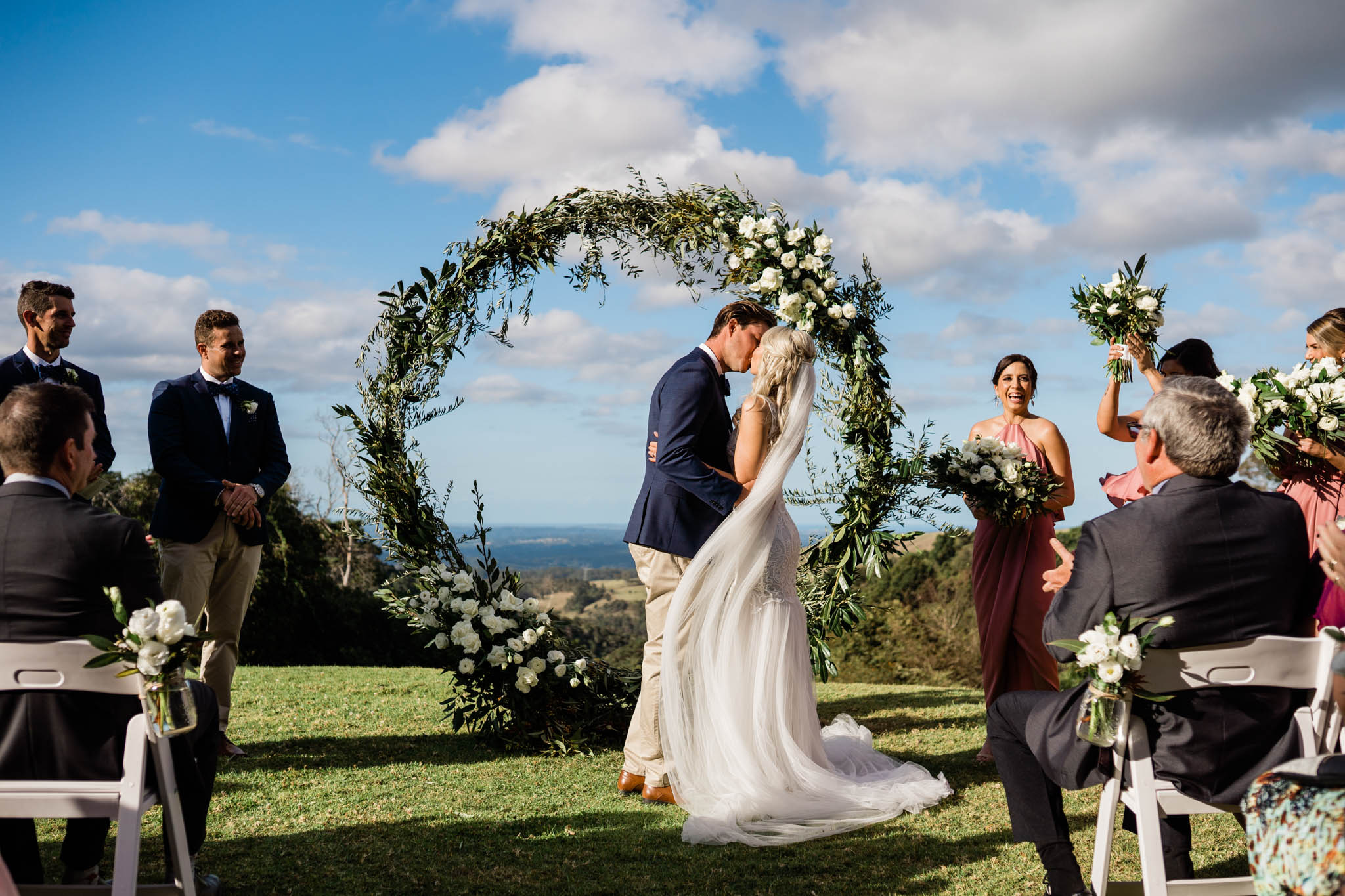Spring Wedding In Queensland