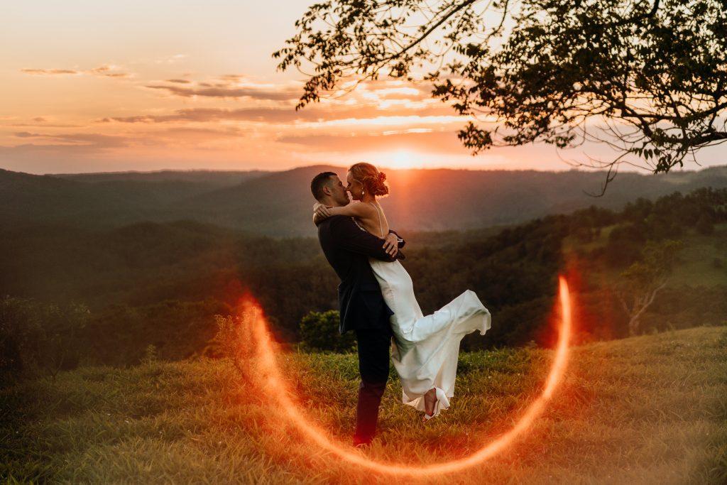Maleny Sunset Wedding