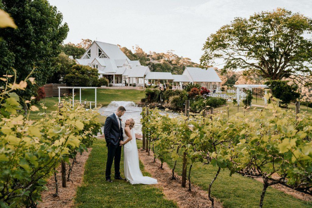 Intimate Summer Outdoor Wedding