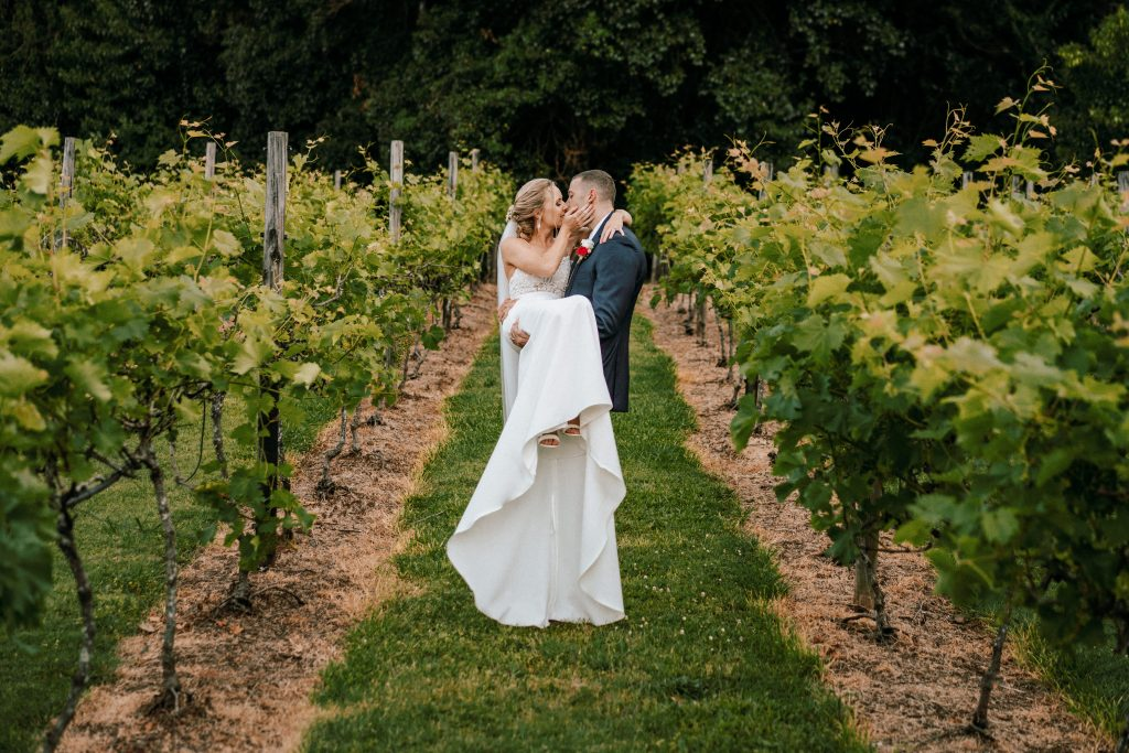 Intimate Summer Outdoor Wedding