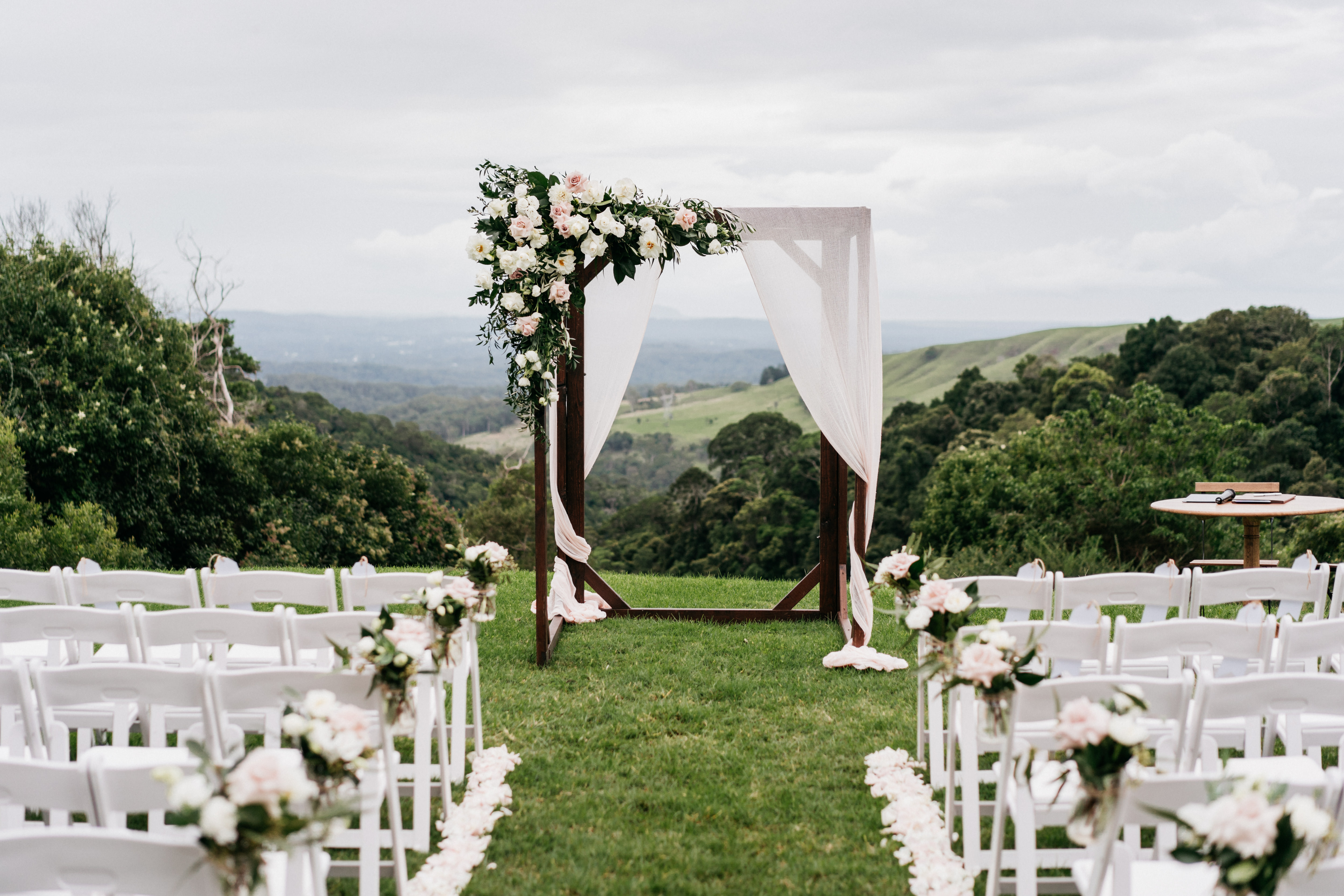 Bespoke Maleny Wedding Reception