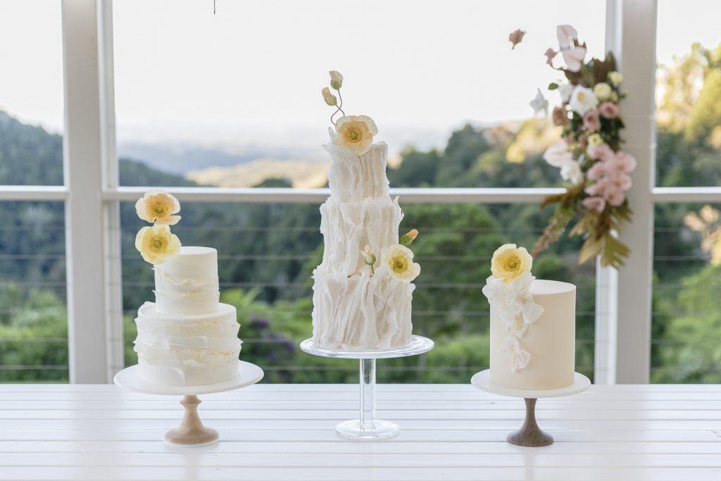 Wedding cake trends 2020 Maleny Manor