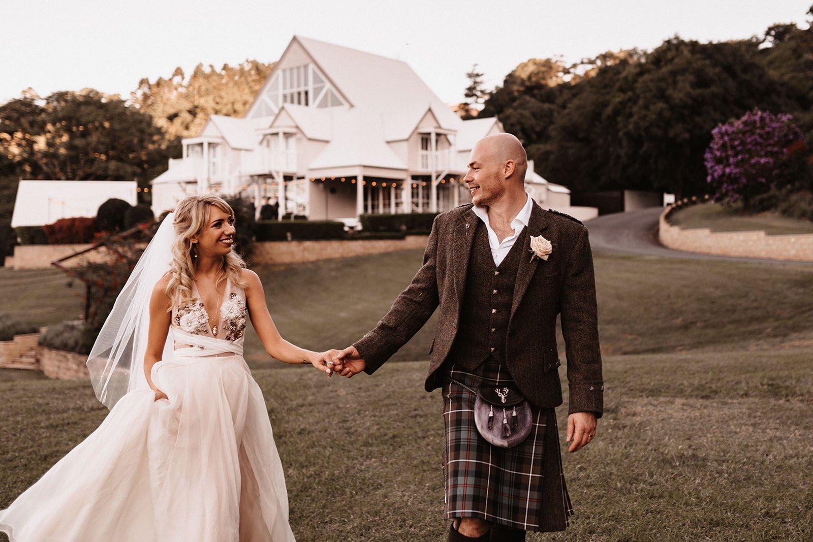 Robyn & Andrew Wedding Image