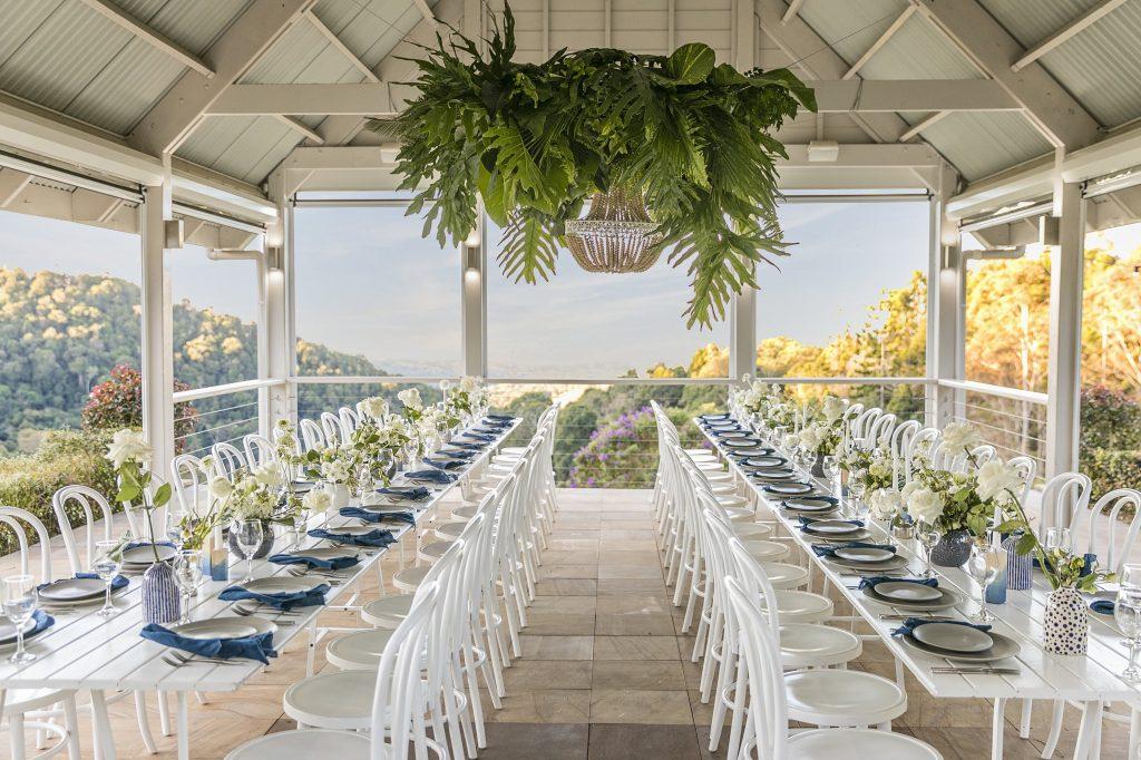 Summer Hamtons style wedding Maleny