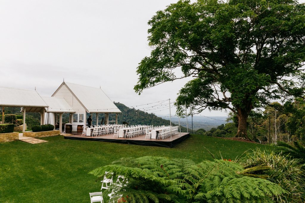 Bespoke Maleny Wedding Reception